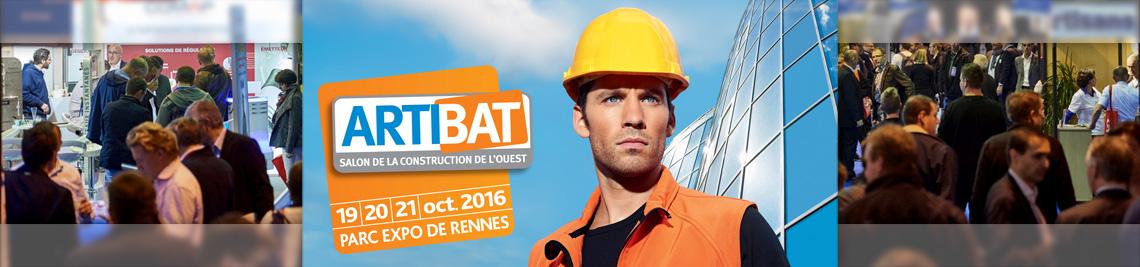 ROOFMART au salon ARTIBAT de Rennes du 19 au 21 octobre 2016