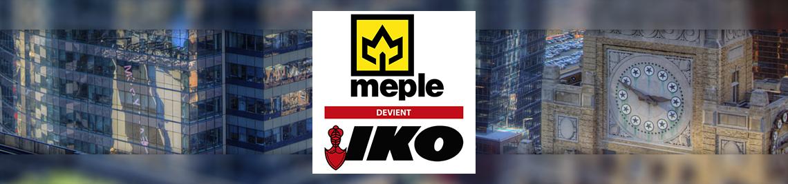 MEPLE devient IKO