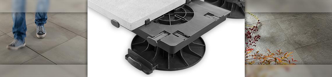 Plaque à dalle & Kit de bordure