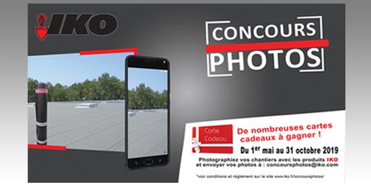 Participez au concours photo IKO et gagnez tous les mois des coffrets cadeaux !
