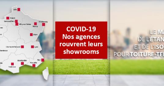 COVID-19 Nos agences rouvrent leurs showrooms