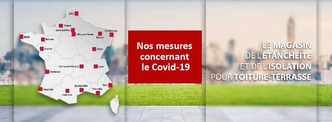 Nos mesures concernant le COVID-19