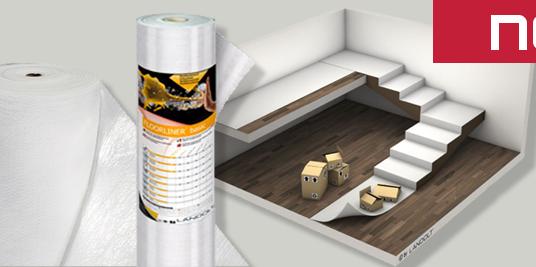 Nouveau produit chez Roofmart – Bâche de recouvrement antidérapante Floorliner™ Basic