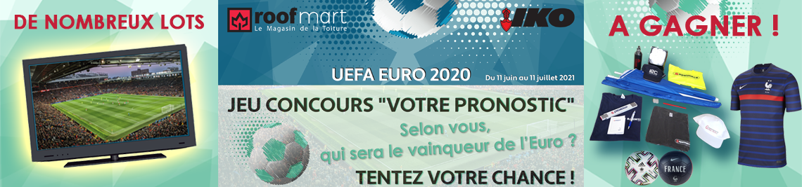 Grand jeu Roofmart UEFA EURO 2020